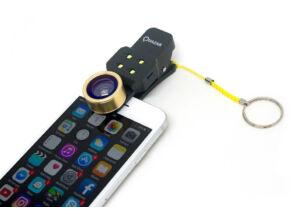 Quazar Mobile Lens 4X LED Szelfi Lencse szett