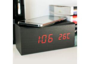 Charger Clock Station órával kombinált vezeték nélküli töltő
