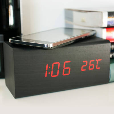 Charger Clock Station