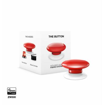 FIBARO Button piros
