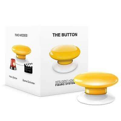 FIBARO Button sárga