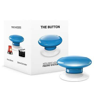 FIBARO Button kék