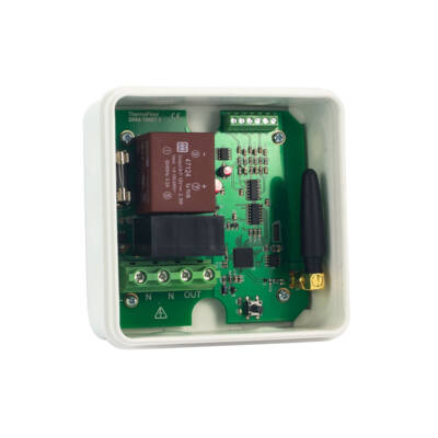 Heatit Z-Relay (25A) relé modul 3 bemenettel