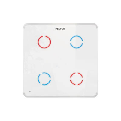 Heltun Touch Panel fali kapcsoló 4 érintőgombbal
