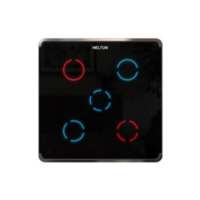 Heltun Touch Panel fali kapcsoló 5 érintőgombbal