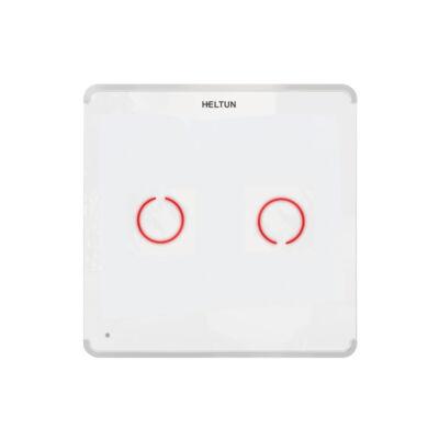 Heltun Touch Panel fali kapcsoló 2 érintőgombbal (fehér-fehér)
