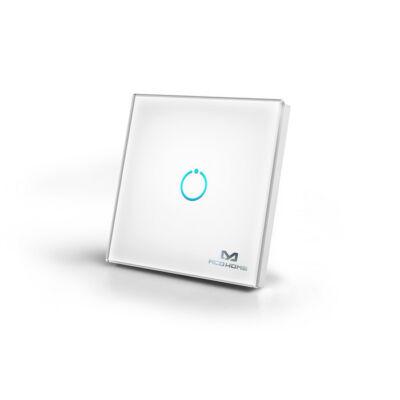 MCO Home Touch Panel fali kapcsoló 1 érintőgombbal (fehér)