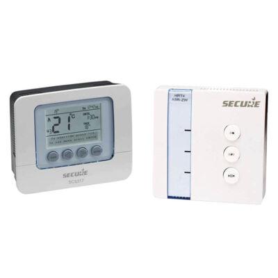 Secure programozható termosztát relével