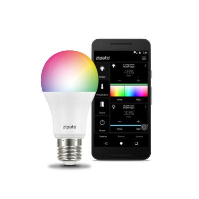 Zipato RGWB Bulb 2 E27  RGBW LED okos égő